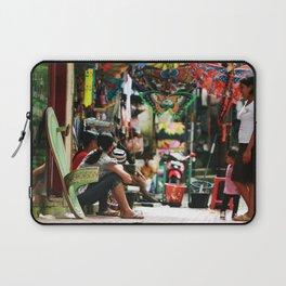Bali - Women in Market Laptop Sleeve