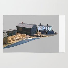 Delano & Ives Sash and Door Model Rug