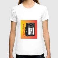 evolution T-shirts featuring Evolution by Mike van der Hoorn