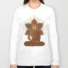 Sitting Buddha Long Sleeve T-shirt