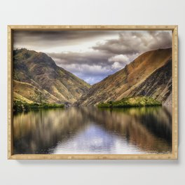 Snake River in Hells Canyon Serving Tray