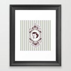 Pretty Woman Framed Art Print