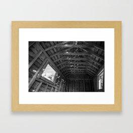 Chimney Corner Engine House - Cape Breton Framed Art Print