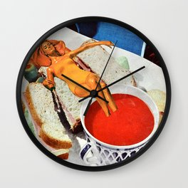 Food Coma Wall Clock