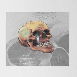 Zia Skull Throw Blanket