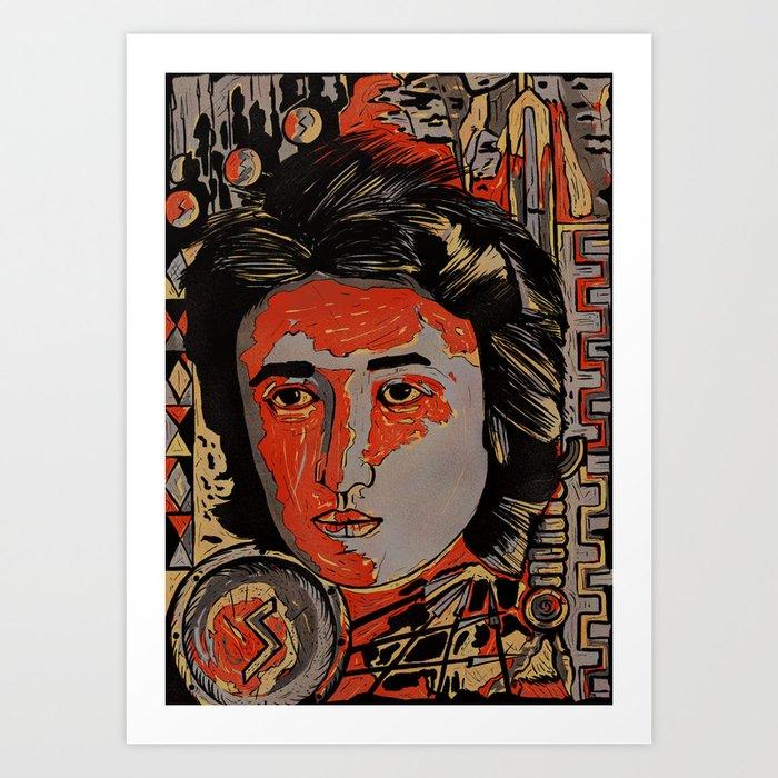 Rosa Luxemburg Art Print By Davidamblard Society6