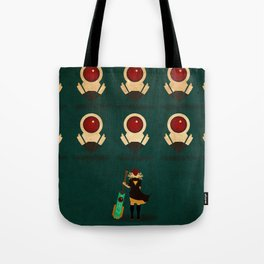 Red vs Cells Tote Bag