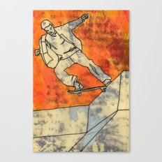 BackSide Tail. Canvas Print