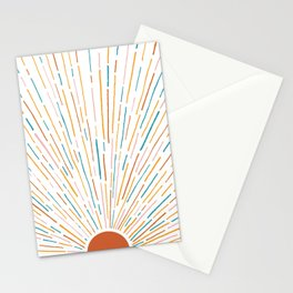 Sunshine All Around Stationery Cards