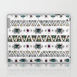 Pattern Indie boho eyes Laptop & iPad Skin