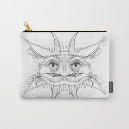 Medieval Demon. MMXIII. Pencil on paper Carry-All Pouch