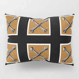 Bones , Traditional Tattoo Pillow Sham