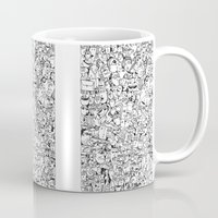 it crowd Mugs featuring Crowd 1 by PAIartist