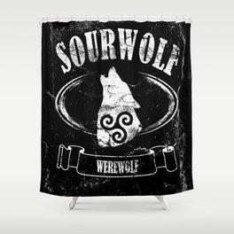 Sourwolf Shower Curtain