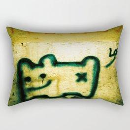 X Marks the Spot Rectangular Pillow