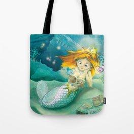 How mermaids get new books Tote Bag