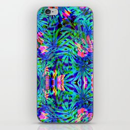 Vaporwave Palms #1 iPhone Skin