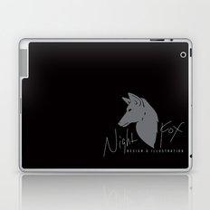 Night Fox Logo Laptop & iPad Skin