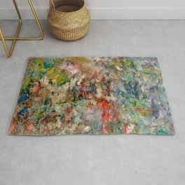 heartbeat in color Rug