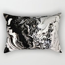Positive or negative, you choose Rectangular Pillow