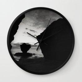 Teacup Silhouette Wall Clock