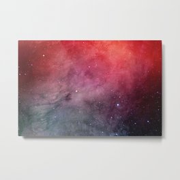 Red space Metal Print