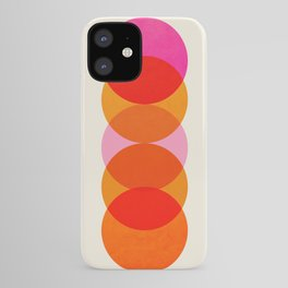 Abstraction_COLOUR_CIRCLES_001 iPhone Case