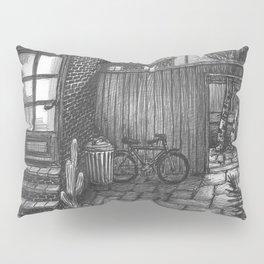 Backyard night Pillow Sham