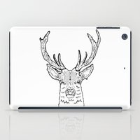 stag iPad Cases featuring STAG by ALFIE creative design