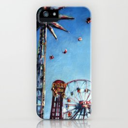 Spinning in the Sky iPhone Case