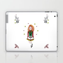 Irish Dancing Girl Laptop & iPad Skin