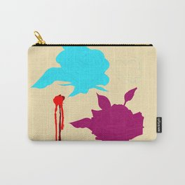 """""""Death by Flowers"""" Carry-All Pouch"""