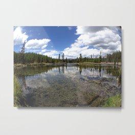 Reflecting Lake Metal Print