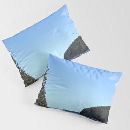 Alaskan Beach Photography Print Pillow Sham