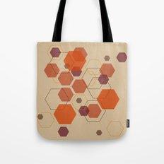 Hexagon Autumn Tote Bag