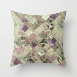 Abstract Geometric Background #25 Throw Pillow