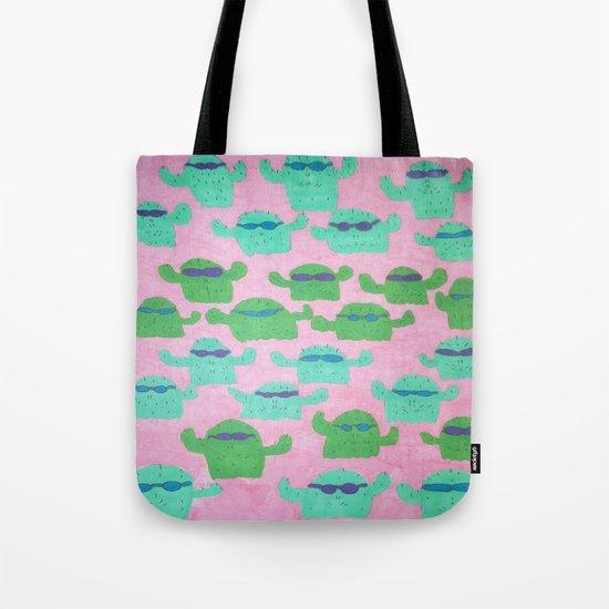 Cool Cactus Pattern Tote Bag