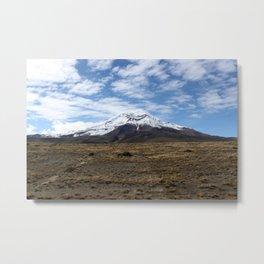 Chimborazo Metal Print