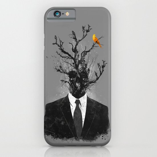 brave little bird iPhone & iPod Case