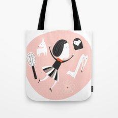 pink universe Tote Bag