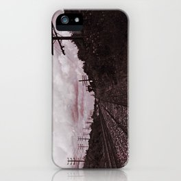 Chandler Street Rails iPhone Case