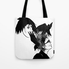 Freedom for my crows... Tote Bag