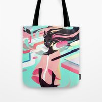 loish Tote Bags featuring Gumdrop by loish