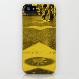 Hollywood Walk of Fame iPhone Case