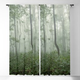 Smoky Mountain Summer Forest - National Park Nature Photography Blackout Curtain