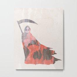 EXIT (go back to sleep) Metal Print