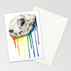 Skull Candy Kitty Stationery Cards