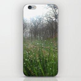 Bokeh Dew Drops iPhone Skin