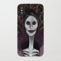 coraline iPhone & iPod Cases featuring Coraline: The Other Mother by SwinkArt