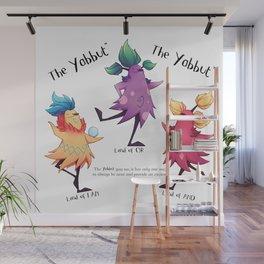 Dancing Yabbuts Wall Mural